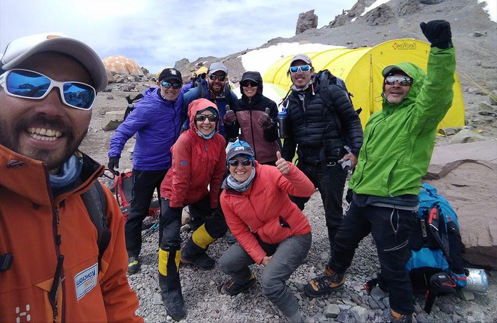Equipo Pioneers Route Aconcagua Visión